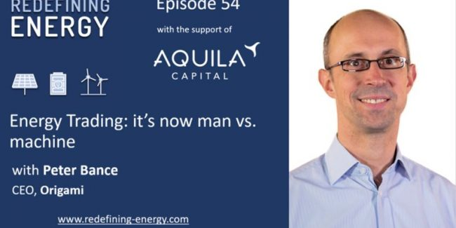 Redefining Energy: Man against Machine